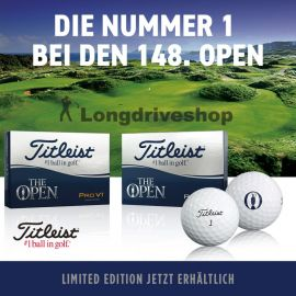 THE OPEN Titleist ProV1 Limited Edition 2019