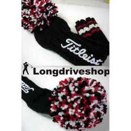 Titleist Strick Headcover Club  Head Cover für Driver und Fairwayhölzer