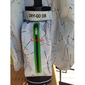 Bennington DRY QO 9 Wasserdicht Golfbag LIMITED EDITION SILVER / LIME