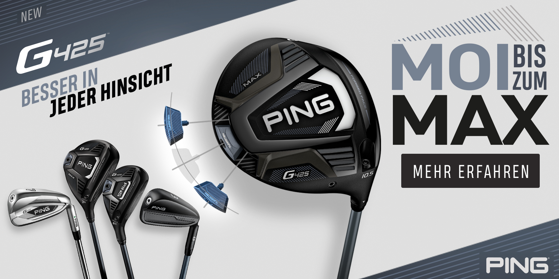 PING G 425 NEW