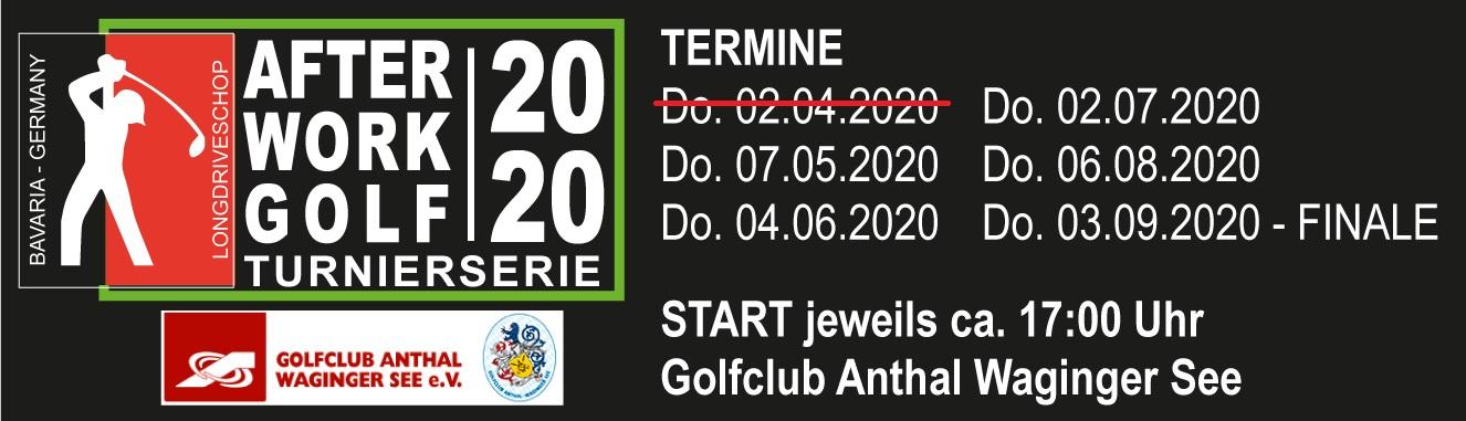 LONGDRIVESHOP After Work Turnierserie 2020