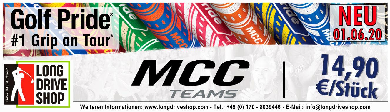 Golf Pride - MCC Teams - Neue Teamfarben